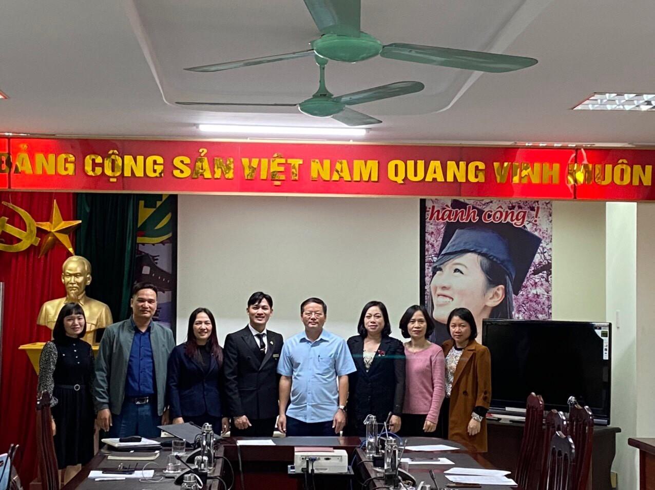 Công ty Cổ phần Đào tạo Huấn luyện Nghiệp vụ Hàng không Việt Nam ký kết Hợp đồng hợp tác tuyển sinh với Trung tâm Dịch vụ việc làm tỉnh Thái Bình